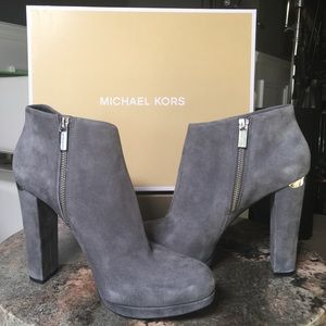 Micheal Kors 'Haven' Suede Bootie, US size 10